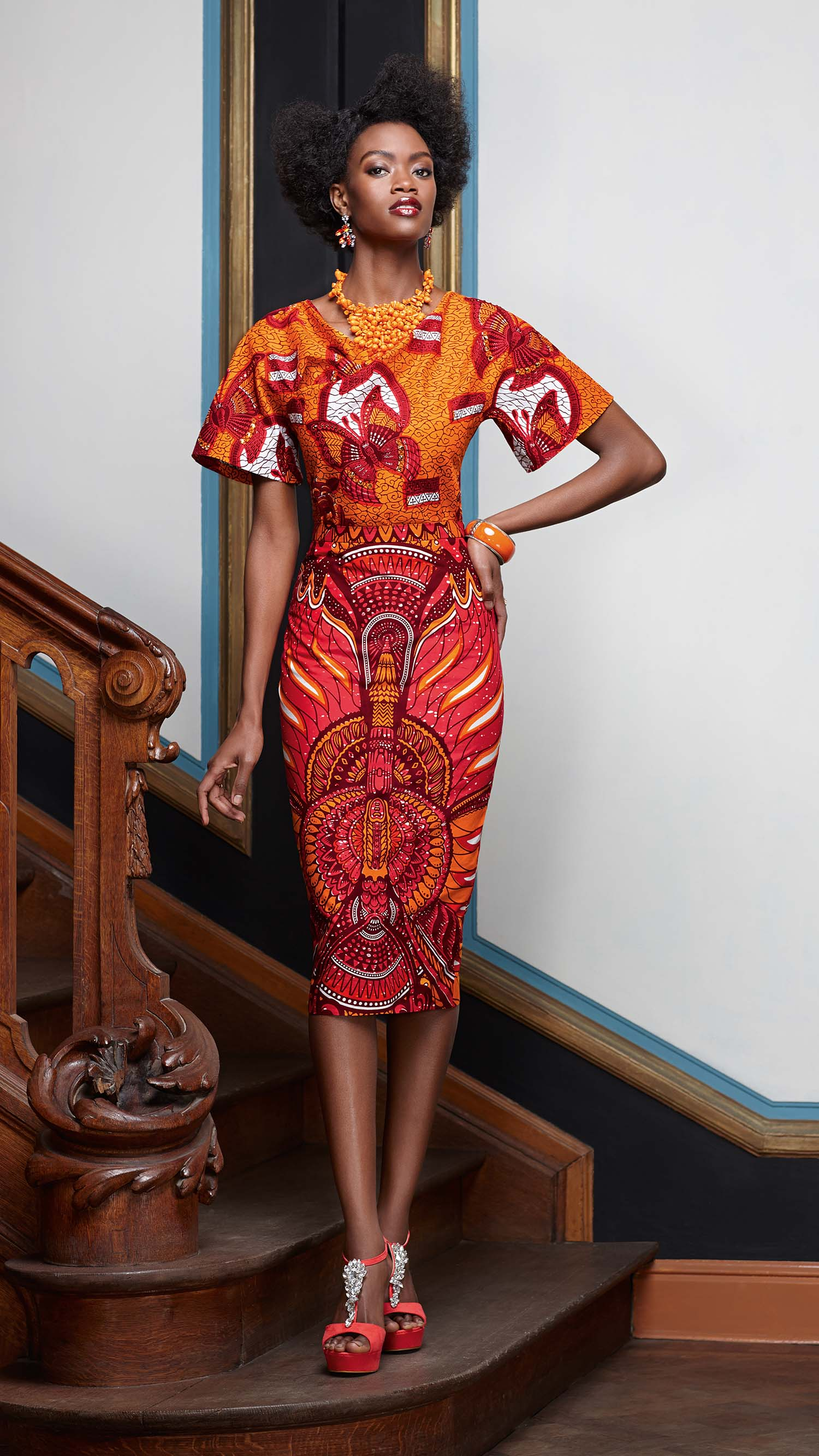 African Print Inspired Look By Vlisco