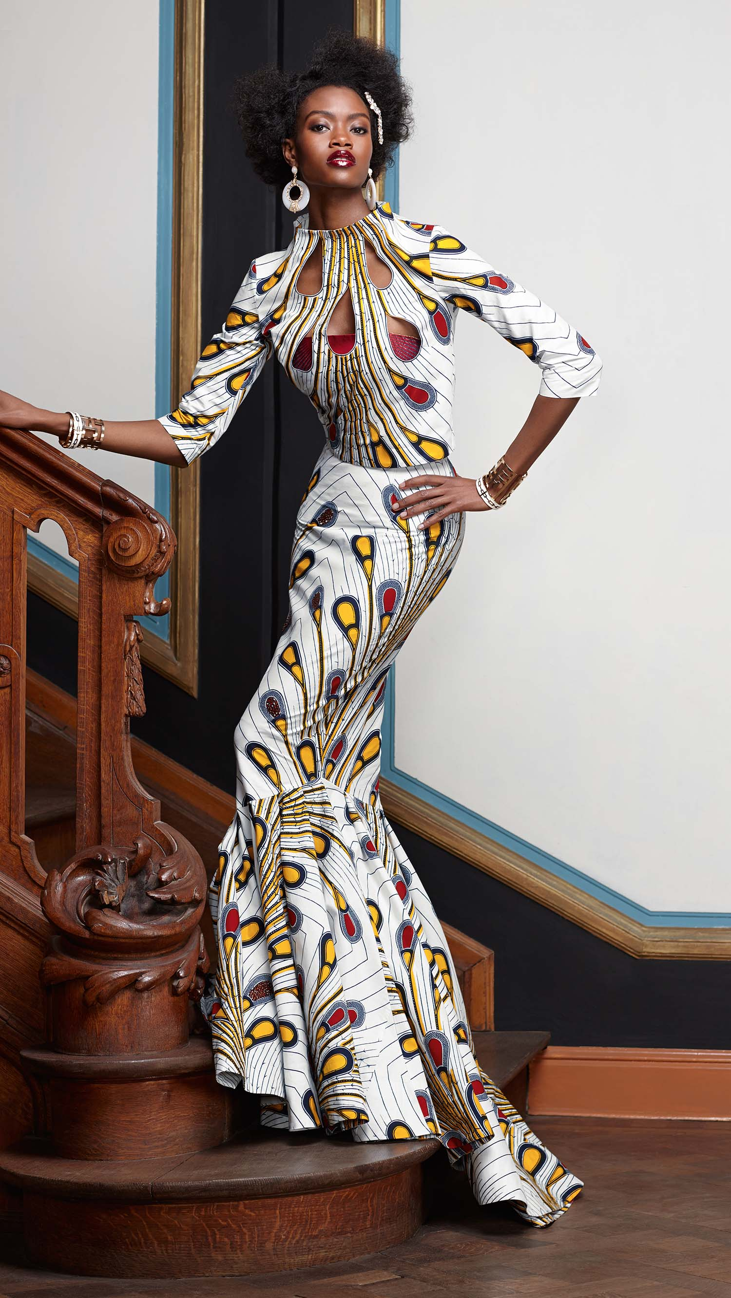 Fantastic  Com  African Ankara Fashion  Pinterest  Stylists Unique And Gowns