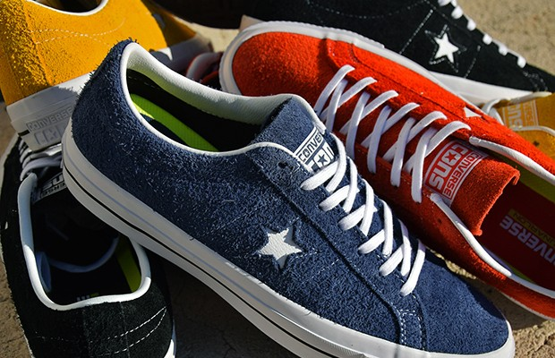 067198d6ec763e SneakPick - Converse One Star Hairy Suede Sneakers - Afrofresh.com