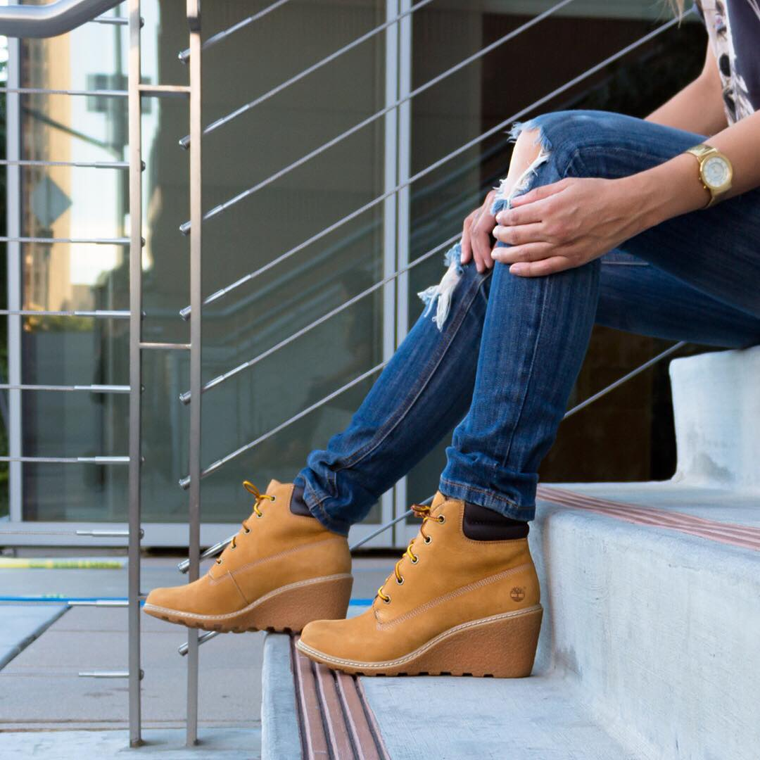 would you rock these timberland wedges