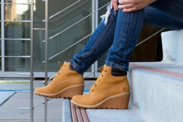 Timberland Amston Wedge Boots