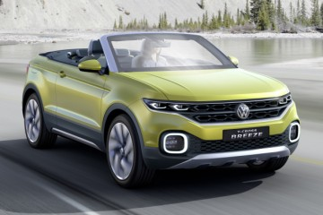 VolksWagen T-Cross Breeze Convertible
