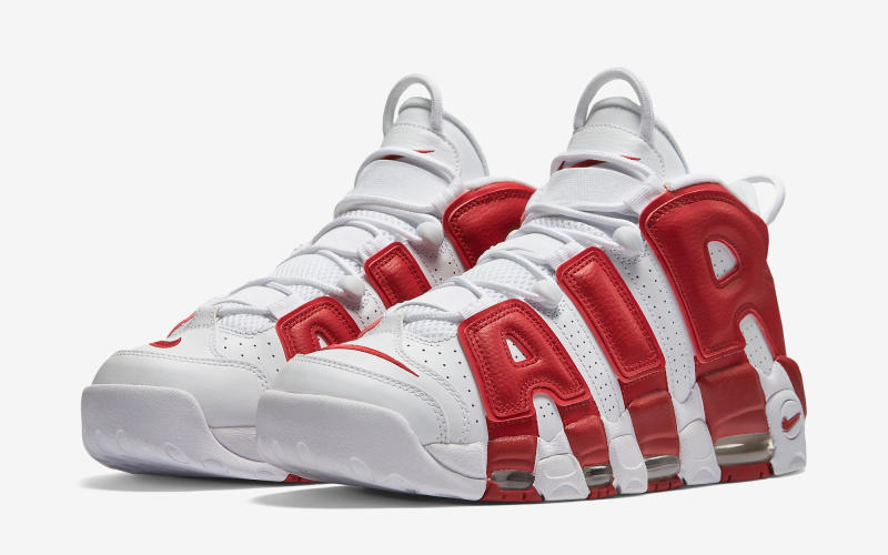 50742525a5b1 Nike Gives the Air-More Uptempo Sneakers a Chicago Bulls Makeover ...
