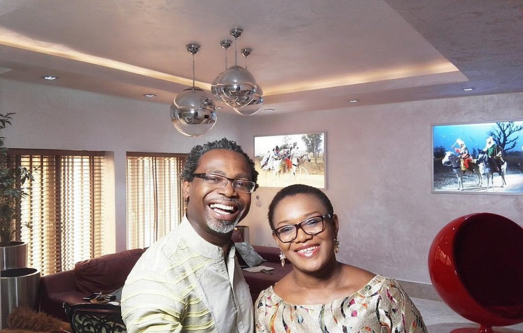 Kelechi Amadi Obi and wife
