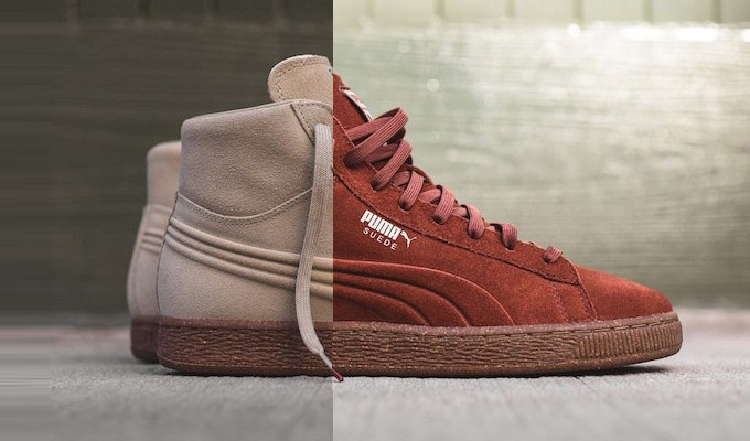 Puma Suede Mid Sneakers ( Embossed Pack)