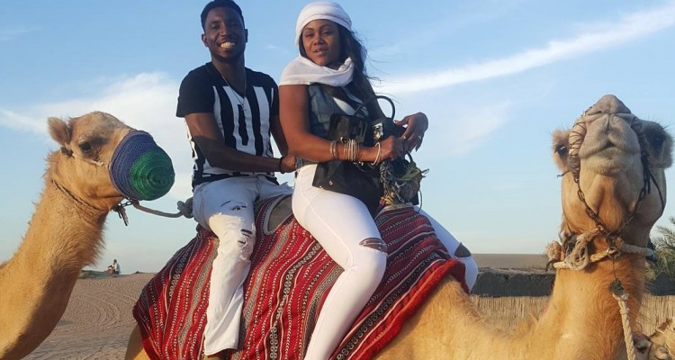 Anniversary Holiday - Timi Dakolo Shares Fun Time with Wife in Dubai