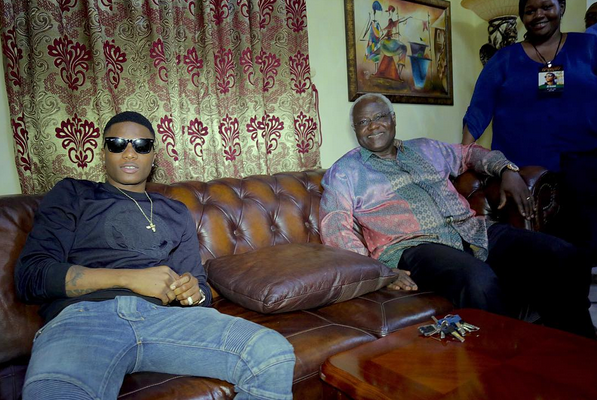 Wizkid Hosted By Sierra Leone's President on World Tour